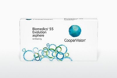 Contact Lenses Cooper Vision Biomedics 55 Evolution BMEU6