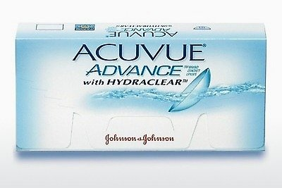 Contactlenzen Johnson & Johnson ACUVUE ADVANCE with HYDRACLEAR AVG-6P-REV
