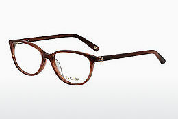 Eyewear Escada VES258 06DB - Brown, Red, Havanna