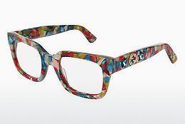 Eyewear Gucci GG0210O 005 - Blue, Red, Multi-coloured