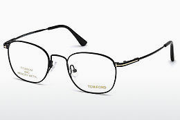 Designerbrillen Tom Ford FT5417 001 - Zwart, Shiny