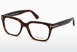 Designerbrillen Tom Ford FT5477 054 - Rood, Bruin, Havanna