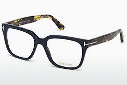 Designerbrillen Tom Ford FT5477 090 - Blauw, Shiny