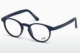 Designerbrillen Web Eyewear WE5186 090 - Blauw, Shiny