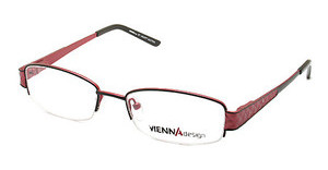 Vienna Design UN440 01 matt black-matt red