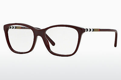 Designerbrillen Burberry BE2141 3403 - Rood, Bordeaux