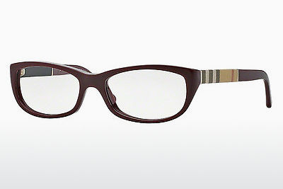 Designerbrillen Burberry BE2167 3403 - Rood, Bordeaux