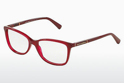 Eyewear Dolce & Gabbana Logo Plaque (DG3219 2681) - Red