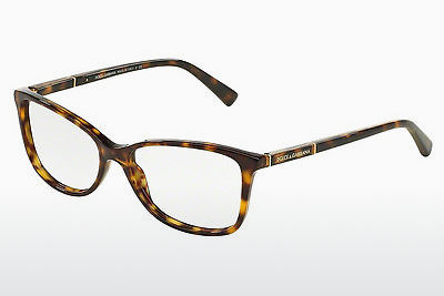 Eyewear Dolce & Gabbana Logo Plaque (DG3219 502) - Brown, Havanna