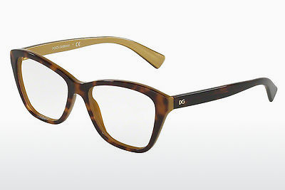 Eyewear Dolce & Gabbana DG3249 2956 - Brown, Havanna, Gold
