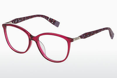 Eyewear Furla VFU029 0AGN - Red, Transparent