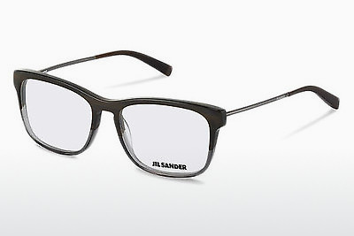 Eyewear Jil Sander J4011 C - Brown, Grey