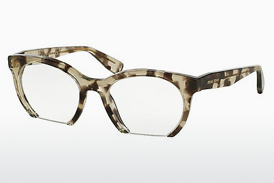 Eyewear Miu Miu MU 09NV UAF1O1 - Brown, Havanna