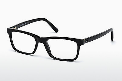 Eyewear Mont Blanc MB0541 001 - Black, Shiny