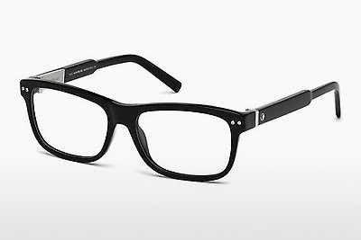 Eyewear Mont Blanc MB0618 001 - Black, Shiny