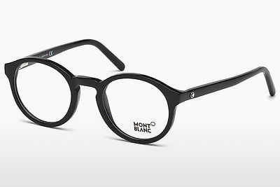 Eyewear Mont Blanc MB0673 001 - Black, Shiny