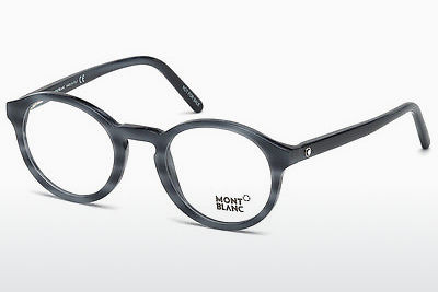 Eyewear Mont Blanc MB0673 090 - Blue, Shiny