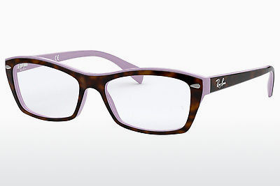Eyewear Ray-Ban RX5255 (51) (RX5255 5240) - Brown, Havanna, Purple