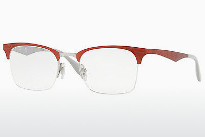 Designerbrillen Ray-Ban RX6360 2921 - Zilver, Rood