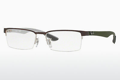 Eyewear Ray-Ban RX8412 2892 - Silver, Brown