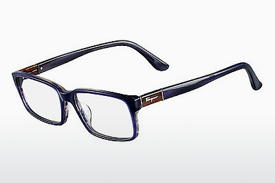 Eyewear Salvatore Ferragamo SF2636 423 - Blue, Horn