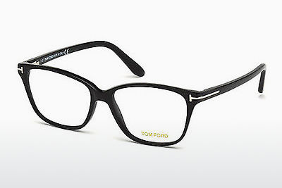 Designerbrillen Tom Ford FT4293 001 - Zwart, Shiny