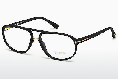 Designerbrillen Tom Ford FT5296 002 - Zwart, Matt