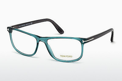 Designerbrillen Tom Ford FT5356 087 - Blauw, Turquoise, Shiny