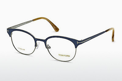 Eyewear Tom Ford FT5382 090 - Blue, Shiny