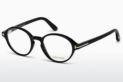 Designerbrillen Tom Ford FT5409 001 - Zwart, Shiny