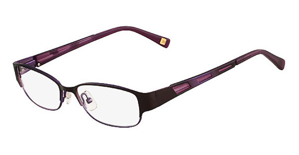 MarchonNYC M-JANE 210 SATIN BROWN LAVENDER