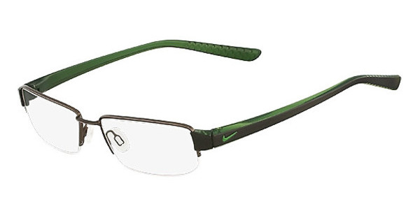 Nike NIKE 8064 216 SHINY BROWN/TRANS GREEN