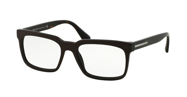 Prada PR 28RV TV61O1 MATTE BRUSHED BROWN