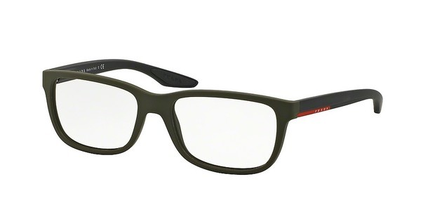 Prada Sport PS 02GV UBW1O1 GREEN RUBBER