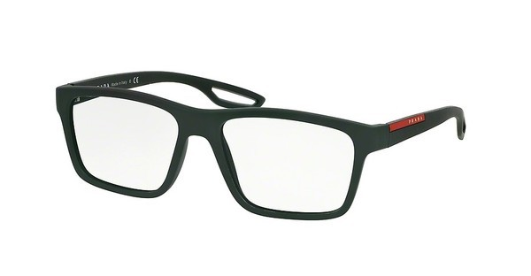 Prada Sport PS 07FV UAQ1O1 GREEN RUBBER