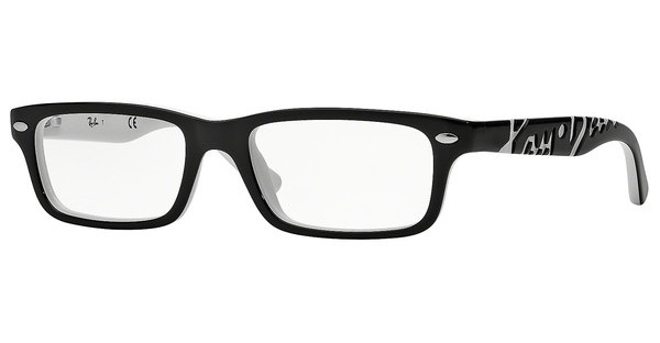 Ray-Ban Junior RY1535 3579 TOP BLACK ON WHITE