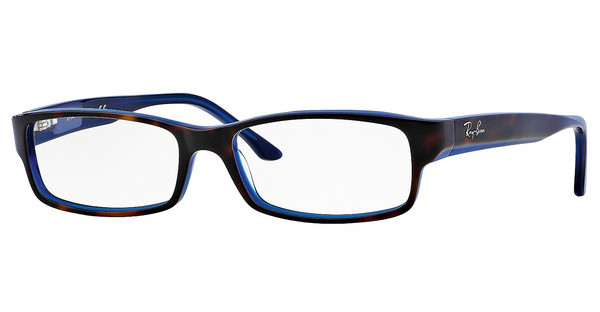 Ray-Ban RX5114 5064 TOP HAVANA ON BLUE