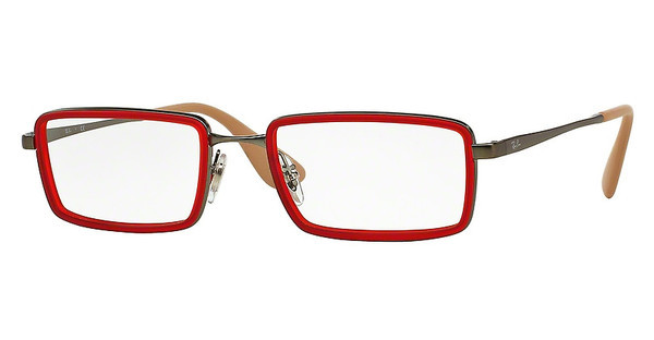 Ray-Ban RX6337 2856 RUBBER RED