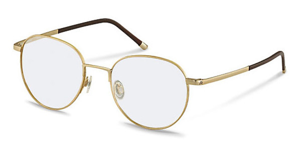 Rodenstock R7022 B gold / dark chocolate