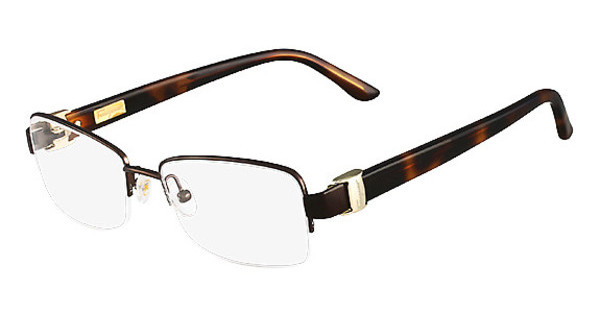 Salvatore Ferragamo SF2112 210 SHINY BROWN