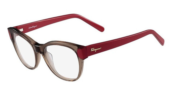 Salvatore Ferragamo SF2756 258 BROWN/STRAWBERRY