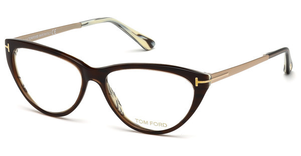 Tom Ford   FT5354 050 braun dunkel