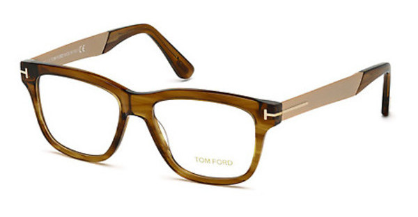 Tom Ford FT5372 048 braun dunkel glanz