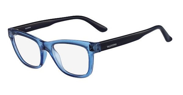 Valentino V2682 419 TRANSPARENT BLUE