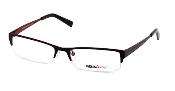 Vienna Design UN364 03 matt black-red