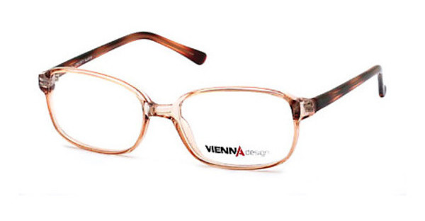 Vienna Design UN399 03 light brown-light orange pattern