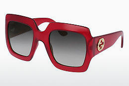 Zonnebril Gucci GG0053S 003 - Rood