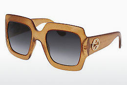 Ophthalmic Glasses Gucci GG0053S 006 - Gold