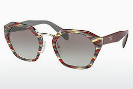 Ophthalmic Glasses Prada PR 04TS VAP0A7 - Red, Multi-coloured
