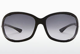 Ophthalmic Glasses Tom Ford Jennifer (FT0008 01B) - Black, Shiny